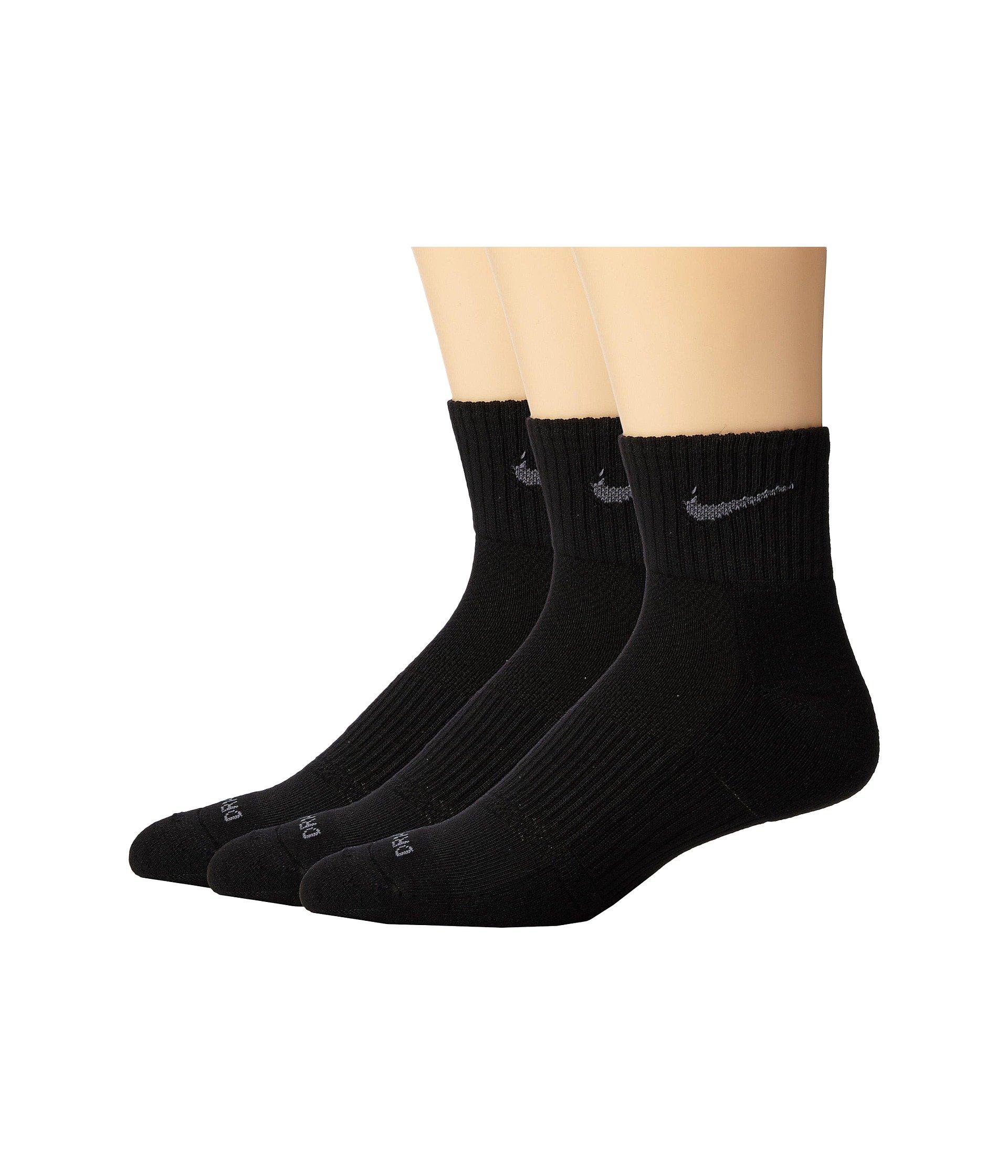 Pack Quarter Cushion flint 3 Nike Grey fit Black Dri XqPXfSZ