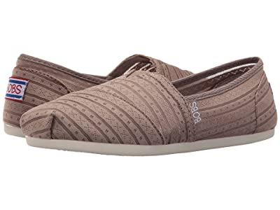 BOBS from SKECHERS Bobs Plush Urban Rose (Taupe) Women