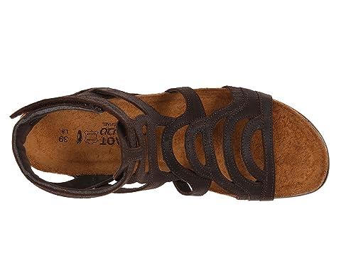 Leatherkhaki Marrón Beige Color Leathermine De Leathersilver Naot Negro Cuervo Cuero Sara Hilos qxw6HxYt
