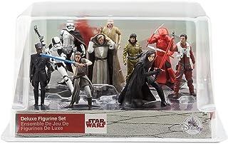 The Last Jedi Star Wars Deluxe Figurine Set