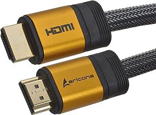aricona High End & High-Speed HDMI-kabel? 1,5 m ondersteunt ethernet, 3D, 4K, audio