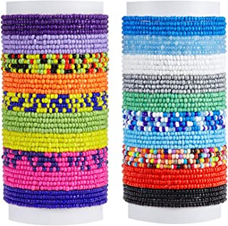 20 Pieces Waist Bead Jewelry Women Waist Chain Colorful Body Chain Beach Bikini Belly Chains for Women Girls Summer