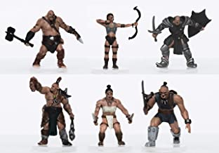 Characters of Adventure - Orcs Party of 6 - Plastic Miniatures for D&D or Pathfinder
