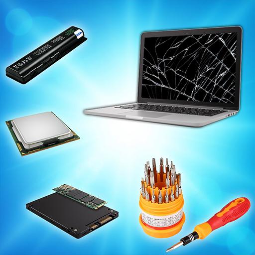 PC Building Simulator- Laptop Repair Master Games
