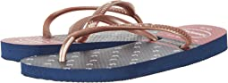 Havaianas Kids Slim Nautical Flip-Flop (Toddler/Little Kid/Big Kid)