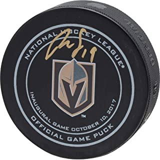 Reilly Smith Vegas Golden Knights Autographed October 10, 2017 Inaugural Opening Night Official Game Puck - Fanatics Authentic Certified