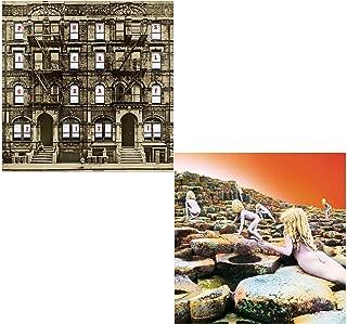 Physical Graffiti (Double Vinyl) - Houses of the Holy (Double Vinyl) - Led Zeppelin 2 LP Vinyl Album Bundling