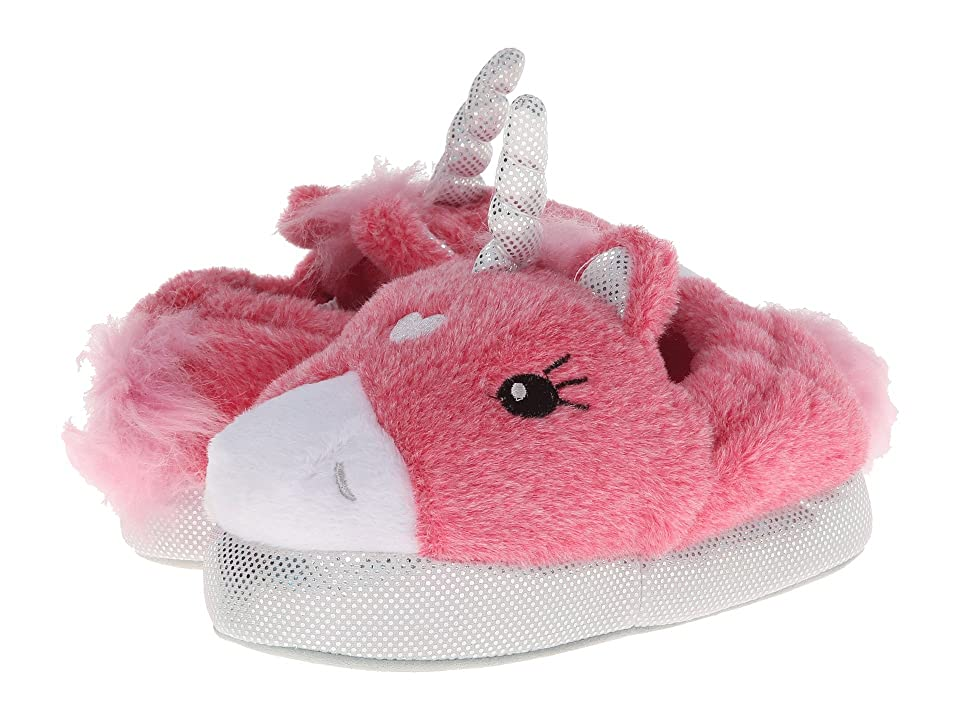 Stride Rite Lighted Unicorn Slipper (Infant/Toddler/Youth) (Pink Multi) Girls Shoes