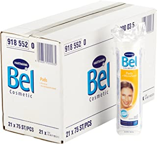 Bel Cosmetic Pads (Art. 918552), 21 påse à 75 stycken
