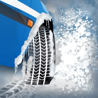 Winter Snow Tires Agility Race : The Arctic Car Ice Traction Road - Free Edition