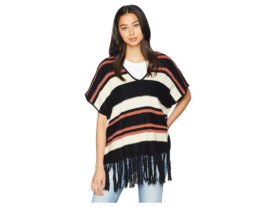 Women's 70s Shirts, Blouses, Hippie Tops Sanctuary Mojave Poncho Multi Womens Clothing $119.00 AT vintagedancer.com