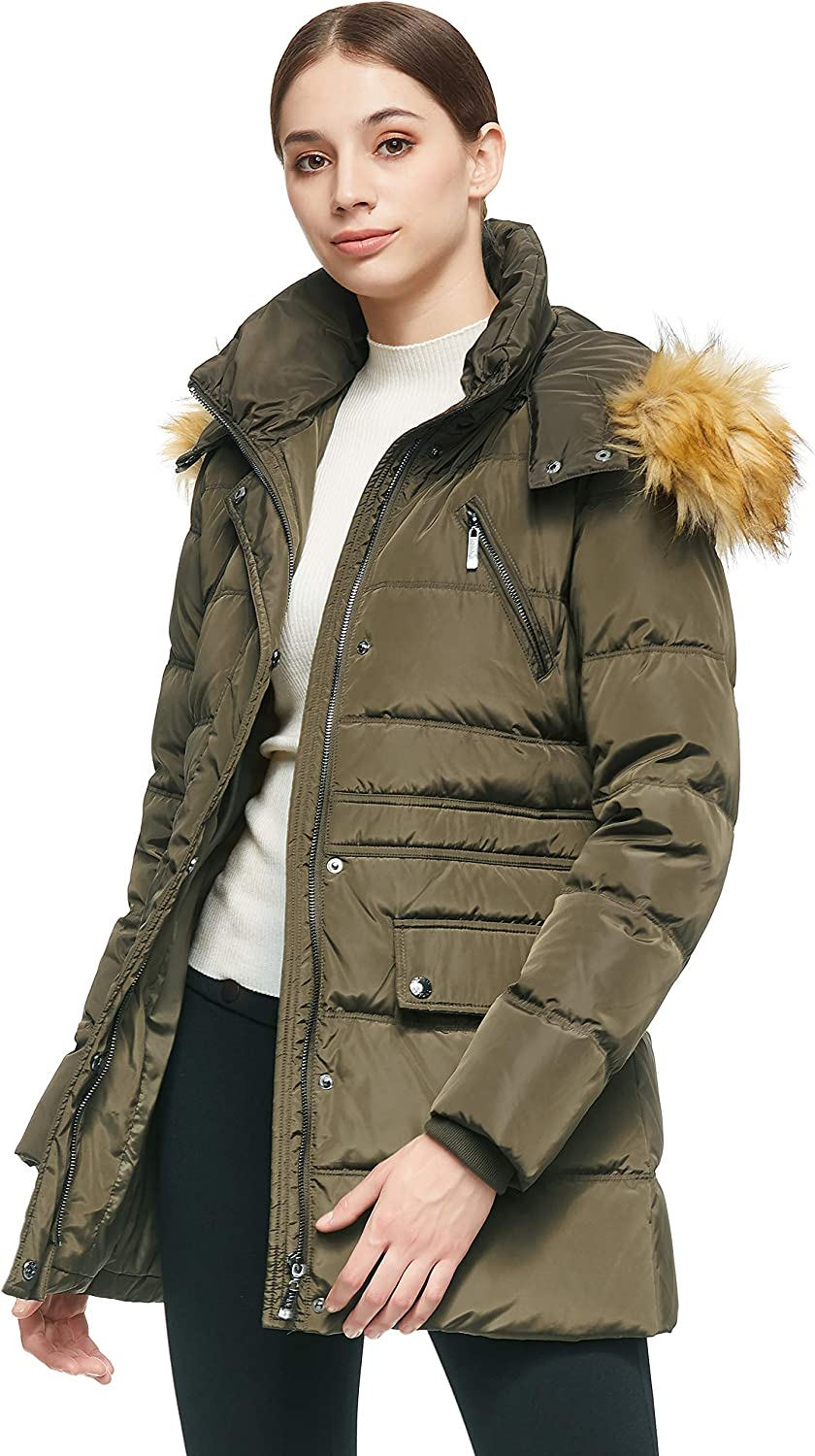 Orolay Womens Thickened Short Down Jacket Winter Coat