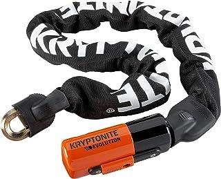 Kryptonite kabelslot Evolution serie 4 geïntegreerde ketting 1090, zwart, 90 cm