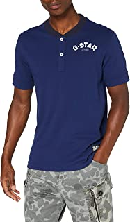 G STAR RAW Double Dye Logo Camiseta para Hombre: Amazon.es