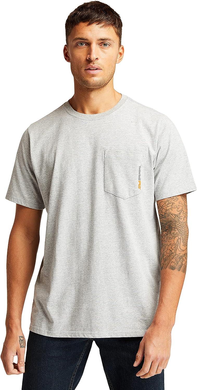 Timberland PRO Men's SALENEW very popular! Base Short-Sleeve Blended Plate Surprise price T-Shirt