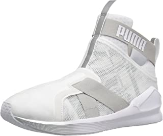 PUMA Women's Fierce Strap Swan WN's Cross-Trainer Shoe, Puma
