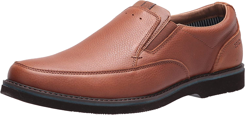 Nunn Bush Men's Barklay Moc Toe Slip-on Loafer with Comfort Gel