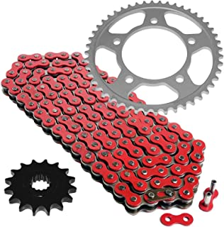 CALTRIC Red Drive Chain and Sprocket Kit Fits YAMAHA YZF-R6 1999-2005 530