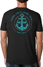 SAND.SALT.SURF.SUN. Shark Anchor Cotton Crew Short Sleeve Shirt