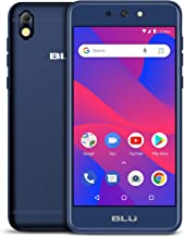 BLU Advance 5.2 HD - GSM Unlocked Smartphone, 16GB+1GB RAM -Blue