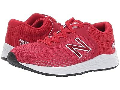 New Balance Kids YAARIv2 (Little Kid/Big Kid) (Team Red/White) Boys Shoes