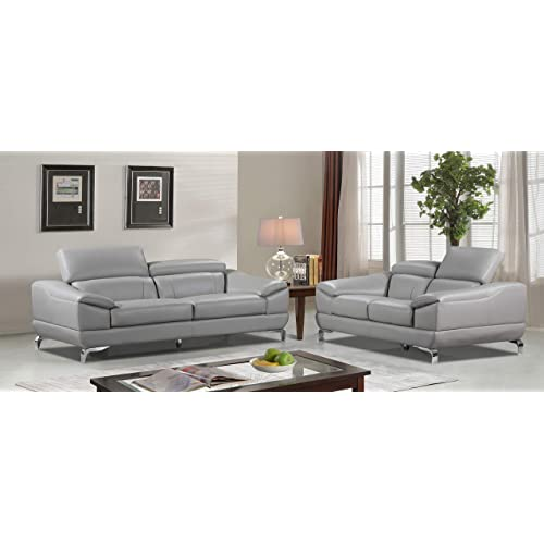 Marvelous Genuine Leather Sofa Set Amazon Com Onthecornerstone Fun Painted Chair Ideas Images Onthecornerstoneorg