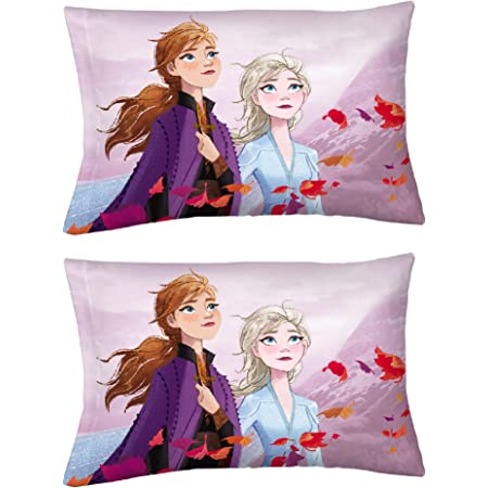 Frozen Bruni the Fire Spirit Salamander Hot /& Cold Pillow Case Multi-Color
