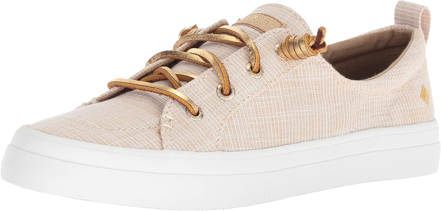 Sperry Women's Crest Vibe Metallic Novelty Sneakers