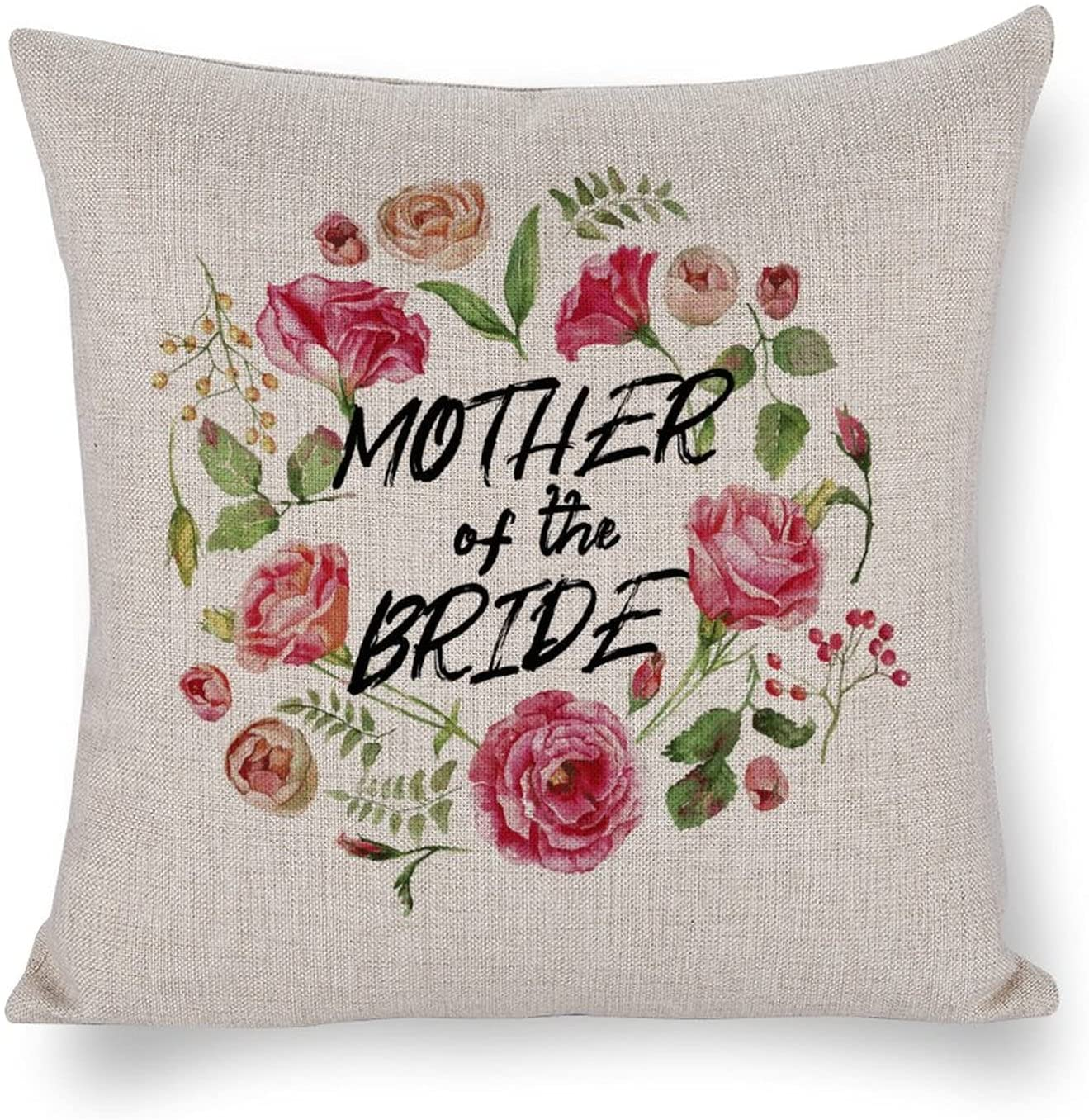 UTF4C Mother Sales High material for sale of The Bride Cotton Sofa Cushion Art Linen Home Bed
