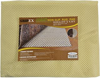 Non-slip Non-skid Rug Pad For Area Rugs and Runners Eco Friendly Made With 100% Plant Based Oils Grip-Ex (6' 7