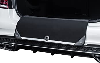 Boot Flap Co Rear Bumper Guard Trunk Mat: Durable Neoprene Universal Easy Fit Reflective Back Bumper Protector & Foldable Black Trunk Pad for Cars & SUVS