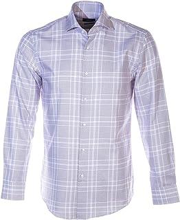 BOSS Jason Shirt in Plum Check