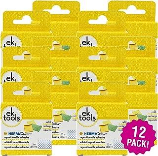 EK 95241 Tools Herma Dotto Repositionable Adhesive Refill 12/Pkg, 12 Pack