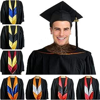 brown graduation hood