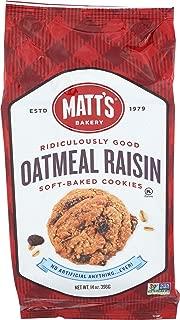 Matts Cookies Oatmeal Raisin Cookies, 14 oz