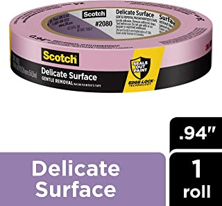 Scotch Delicate Surface Painter's Tape, 0.94 inch x 60 yard, 1 Roll