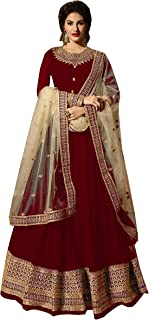 Delisa Indian/Pakistani Bollywood Party Wear Long Anarkali Gown for Womens NG