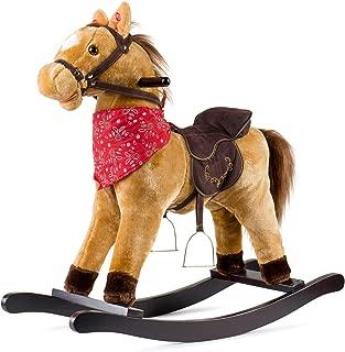 JOON Cowboy Rocking Horse - Tan Brown