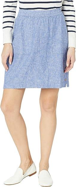 Jamie Cotton Linen Skirt