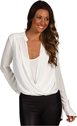 Jaklyn Draped Front Top