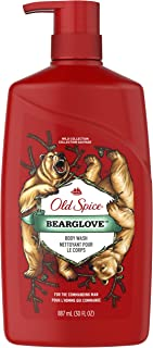 Old Spice Body Wash for Men, Wild Bearglove Scent, 887 ml (Packaging May Vary)