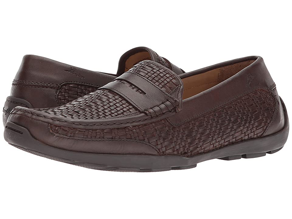 Tommy Bahama Taza Fronds (Dark Brown Woven) Men