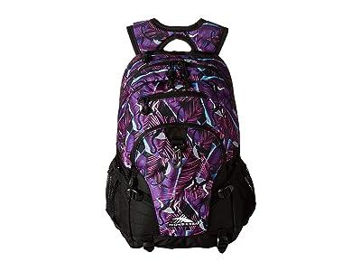 High Sierra Loop Backpack (Rainforest/Black) Backpack Bags