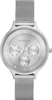 Skagen Anita Women's Silver Dial Stainless Steel Band Watch - SKW2312
