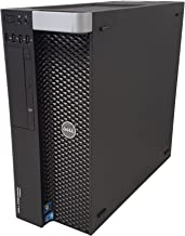 Dell Precision T3600 Workstation E5-2670 2.6GHz 8-Core 64GB DDR3 Quadro 5000 480GB SSD Win 10 Pro (Renewed)