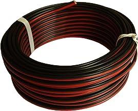 DCSk Lunghezza Bobina 10m Nero Filo elettrico per auto Cavo per autoveicoli tipo FLRY B asimmetrico 6mm/²
