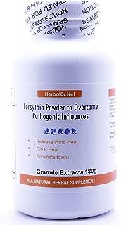 Forsythia Powder to Overcome Pathogenic Influences Extract Powder Tea 180g (Shi Wei Bai Du San) Ready-to-Drink 100% Natural Herbs