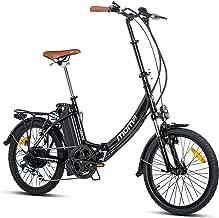 Moma Bikes E- Bike 20.2 Bicicleta Plegable electrica,