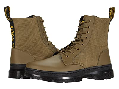 Dr. Martens Combs II (DMS Olive) Boots