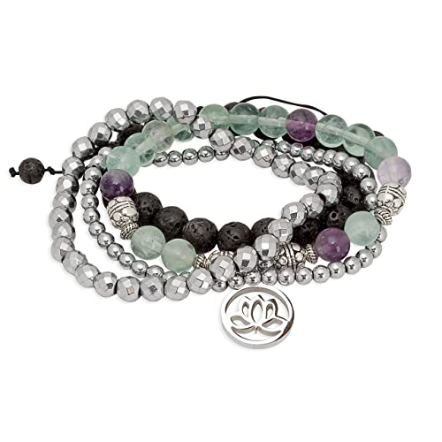 Jewellery & Watches Costume Jewellery Honesty Green Coloured Beads And Silver Coloured Charms Elasticated Bracelet Fixing Prices According To Quality Of Products